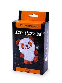 3D головоломка Ice puzzle Панда оранжевая