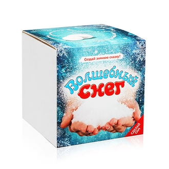 Волшебный снег подарочный набор