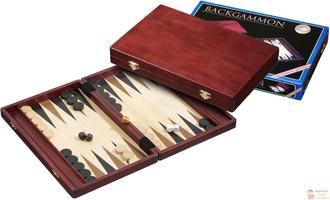 Настольная игра Нарды средние (красное дерево), арт. 1116 / Kos, medium - Backgammon