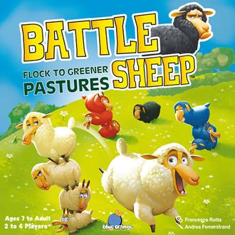 Настольная игра Боевые овцы (Battle Sheep)