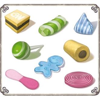 Настольная игра Карамельки (Bonbons)