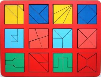 Сложи квадрат Никитин