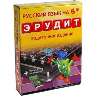 Настольная игра Эрудит (подарочный)