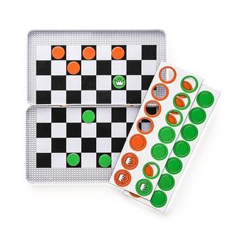 Настольная игра Магнитная игра Шашки