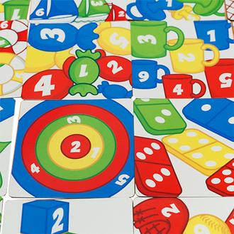 Настольная игра Разноцветные колечки (Rings Up)