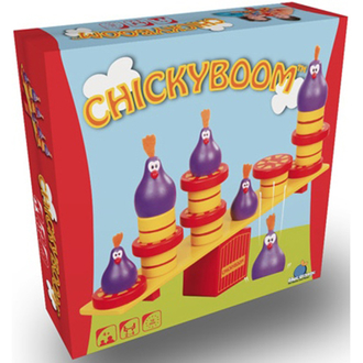 Настольная игра Куриные качели (Chicky Boom)