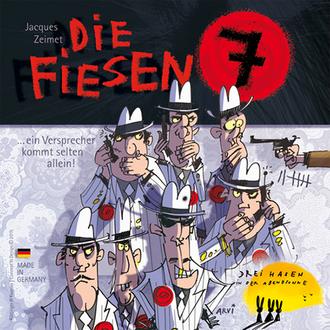 Настольная игра Опасная семёрка (Die fiesen 7)