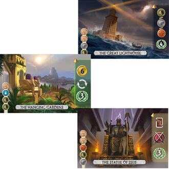 Настольная игра 7 чудес: Дуэль - локализация