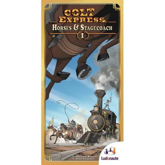 Настольная игра Кольт Экспресс: дополнение (Colt Express Expansion)