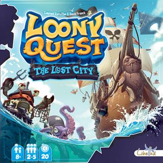 """Настольная игра Луни Квест: доп. """"Затерянный город"""" (Loony Quest: The Lost City Expansion)"""