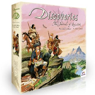 Настольная игра Открытия (Discoveries EN)