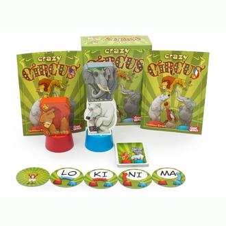 Настольная игра Сумасшедший цирк (Crazi Circus)