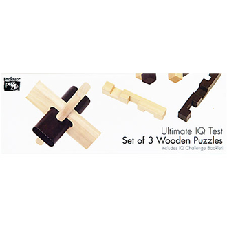 Настольная игра 1134 Набор из 3 головоломок для детей из дерева 531928