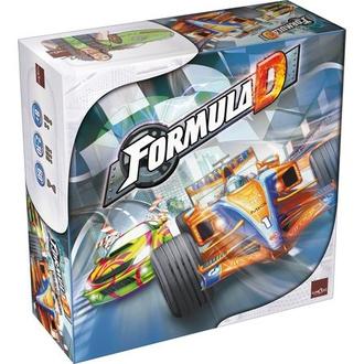 Настольная игра Формула Д (на англ.) (Formula D)