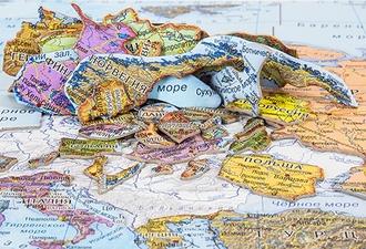 Географический Пазл Карта Европы