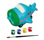 Копилка-раскраска Самолетик